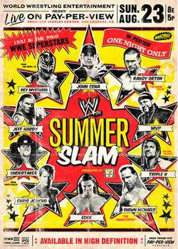 WWE Летний бросок, 2009 - смотреть онлайн