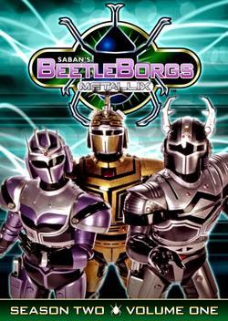Beetleborgs Metallix, 1997 - смотреть онлайн