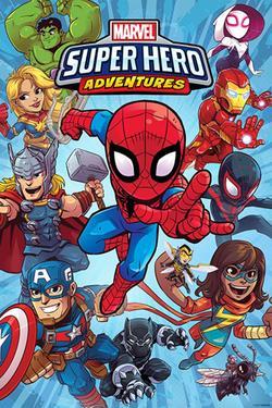 Marvel Super Hero Adventures, 2017 - смотреть онлайн