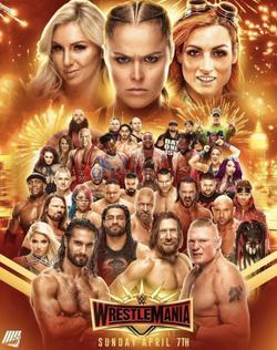 WWE Рестлмания 35 , 2019 - смотреть онлайн