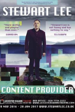 Стюарт Ли: Поставщик контента , 2018 - смотреть онлайн