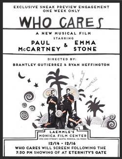 Paul McCartney: Who Cares, 2018 - смотреть онлайн