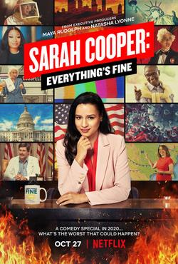 Sarah Cooper: Everything`s Fine, 2020 - смотреть онлайн