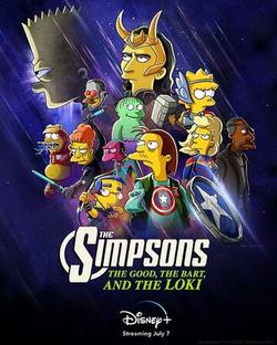 Симпсоны: Добро, Барт и Локи , 2021 - смотреть онлайн