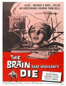 Мозг, который не мог умереть, 1962 - смотреть онлайн