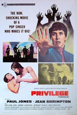 Привилегия, 1967 - смотреть онлайн
