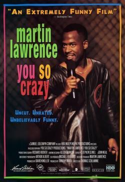Мартин Лоуренс: Ты такой сумасшедший, 1994 - смотреть онлайн