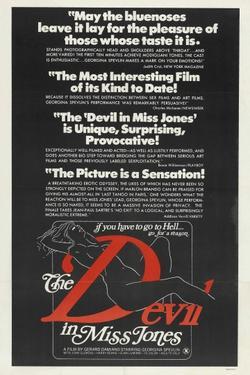 Дьявол в мисс Джонс, 1973 - смотреть онлайн