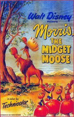 Моррис: карлик-лось, 1950 - смотреть онлайн